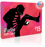 $15 iTunes gift card - for iTunes Store USA